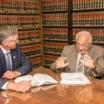 Della Ratta Law Firm_Schenectady-NY Duo Conversing