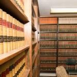 The Della Ratta Law Office - Shelves of Law Books